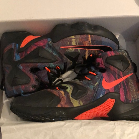 buy popular d4d22 ac3a3 Lebron James Akronite 13 Size 8.5 NWT